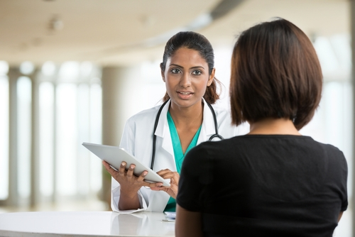 doctor explaining to patient shutterstock_110078714